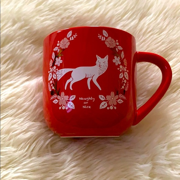 Naughty or Nice Fox Mug